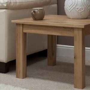 Homestyle Opus Solid Oak Furniture 2ft X 2ft Square Coffee Table